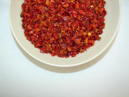 Dried Red Bell Peppers Bowl