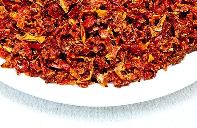 Dried Tomato Flakes Bowl