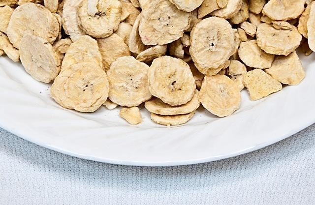 Freeze Dried Bananas Bowl