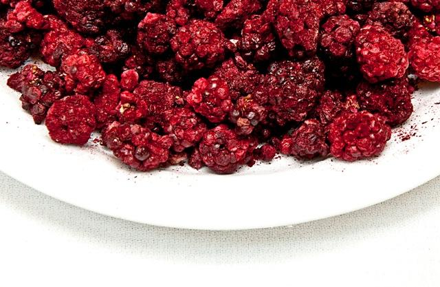 Freeze Dried Blackberries Bowl