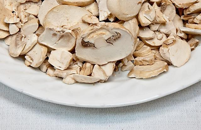 Freeze Dried Mushrooms Bowl