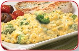 Cheesy Broccoli Rice