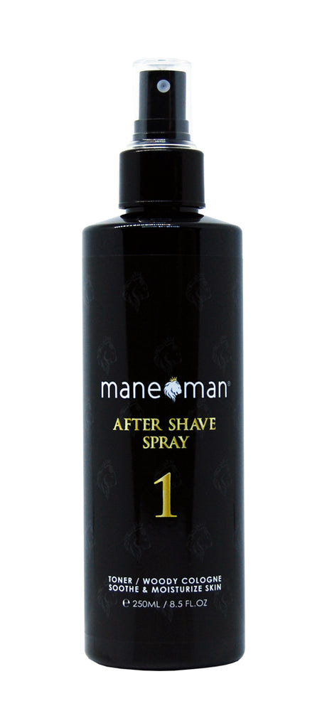 Aftershave Spray 1 - Woody Cologne - mane man, matte paste,