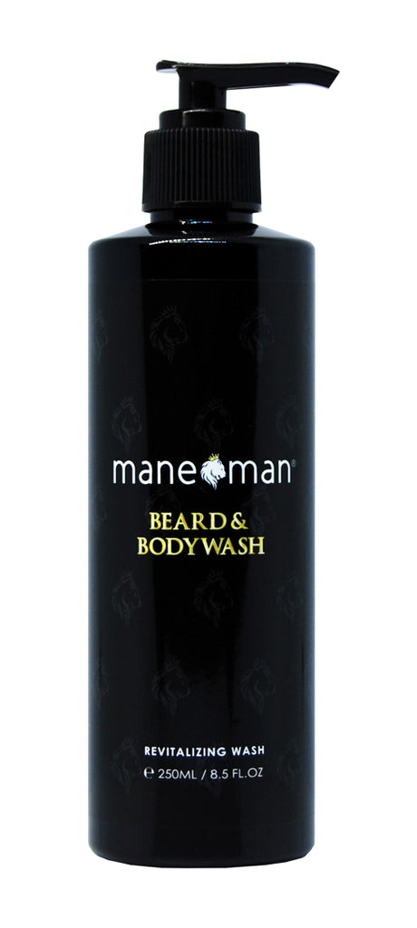 Beard & Body Wash - mane man, matte paste,