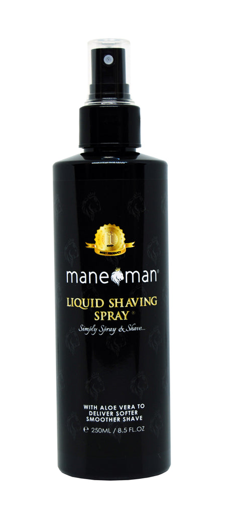 Liquid Shaving Spray - mane man, matte paste,