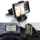 Support Smartphone Voiture Pince GPS