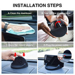 Support Induction Voiture Silicone