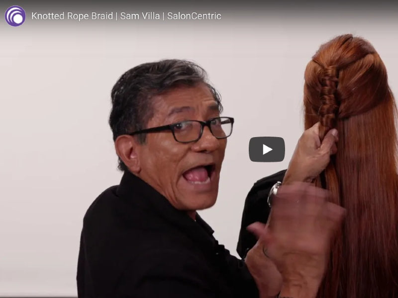 How-To: Knotted Rope Braid With Sam Villa