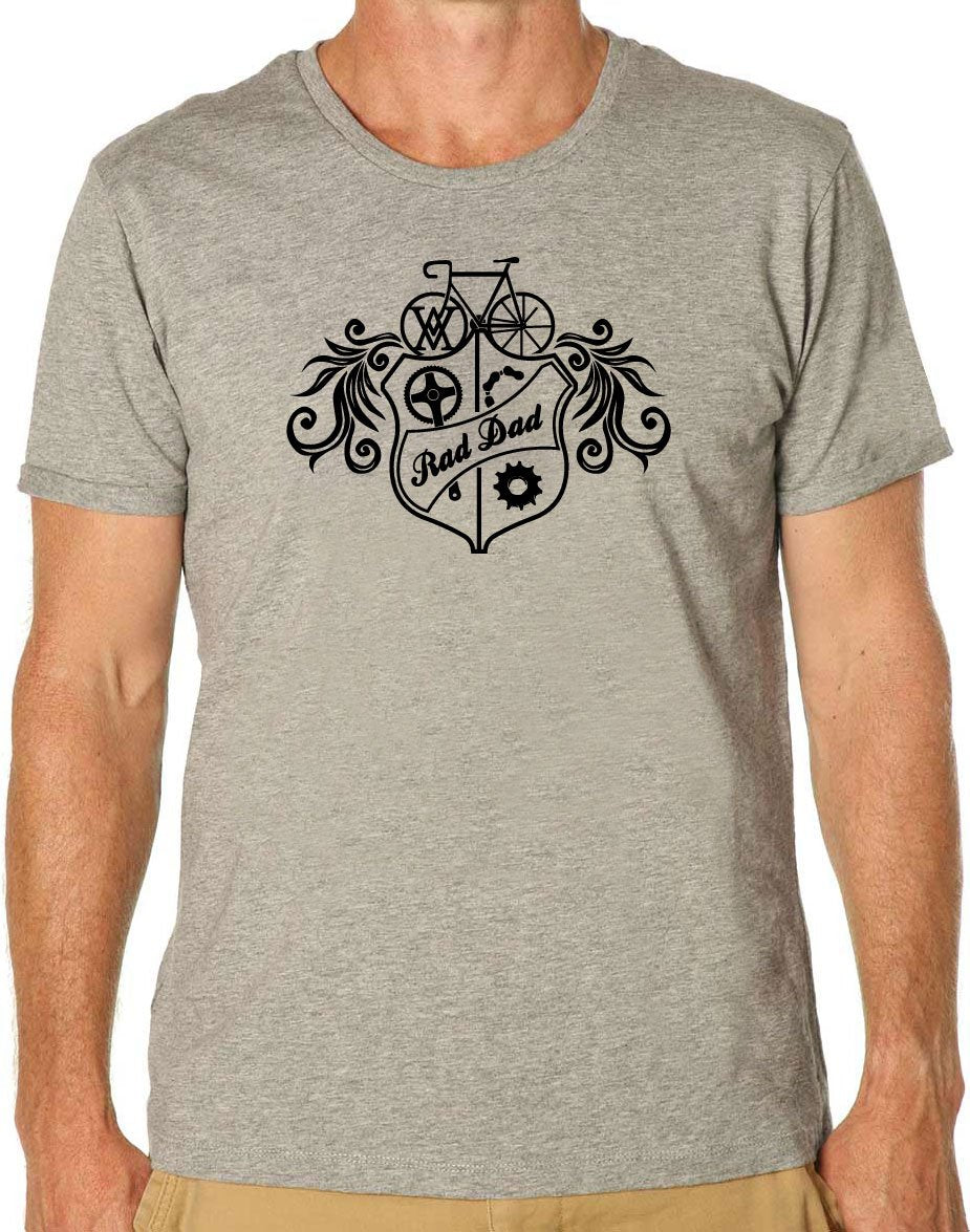 Rad Dad Crest T-Shirt