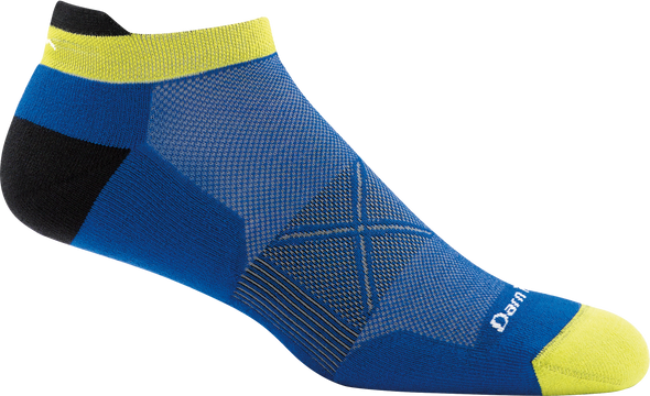 Darn Tough Mens 1012 Coolmax No Show Running Socks
