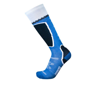 Point6 Unisex 1417 Merino Wool Knee High Ski/Snowboarding Socks