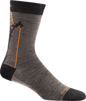 Darn Tough Mens 1681 Merino Wool Crew Lifestyle Socks
