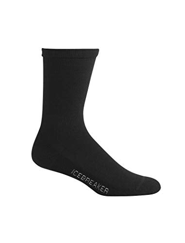 Icebreaker Mens 101285 Merino Wool Crew Fashion Socks