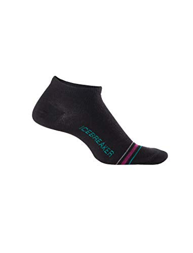 Icebreaker Womens IBN577 Merino Wool 1/4 Crew Fashion Socks