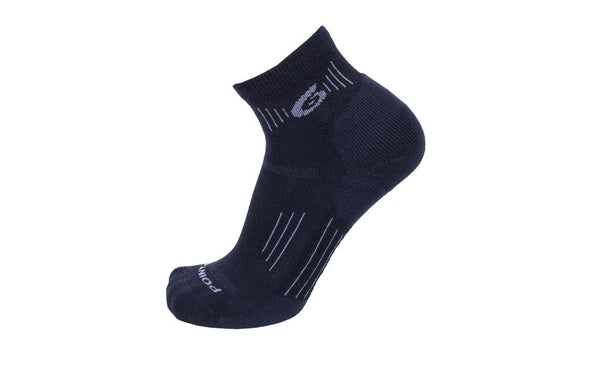 Point6 Unisex 2533 Merino Wool 1/4 Crew Hiking Socks