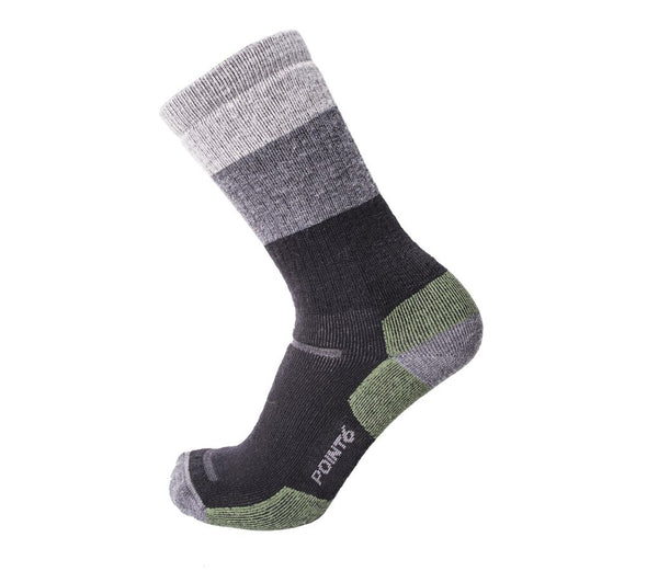 Point6 Unisex 2562 Merino Wool Crew Hiking Socks