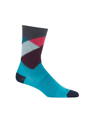 Icebreaker Unisex 104423 Merino Wool Crew Fashion Socks