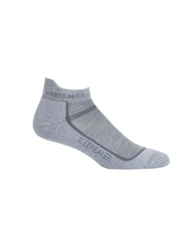 Icebreaker Mens 101485 Merino Wool No Show Sports Socks