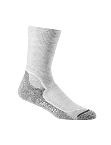 Icebreaker Womens IBND15 Merino Wool Crew Hiking Socks