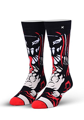 Odd Sox Unisex Crew Novelty Socks, Finn Balor 360, One Size