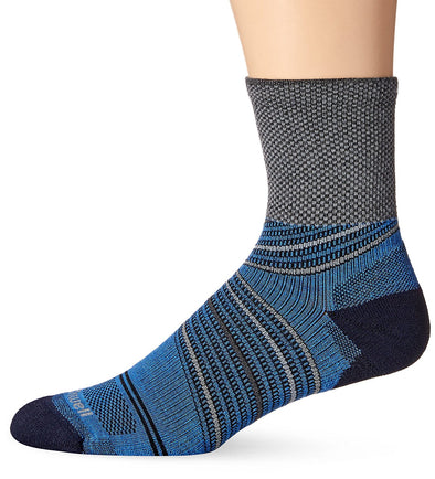 Sockwell Mens Pacer 3/4 Crew Compression Socks