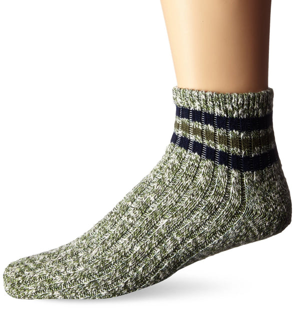 Wigwam Unisex F5316 Cotton 1/4 Crew Fashion Socks