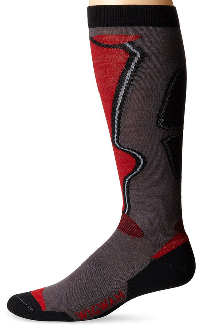 Wigwam Unisex F6139  Knee High Ski/Snowboarding Socks