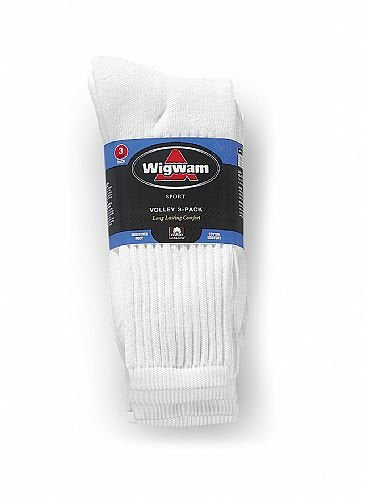 Wigwam Unisex S1052 Cotton Crew Sports Socks
