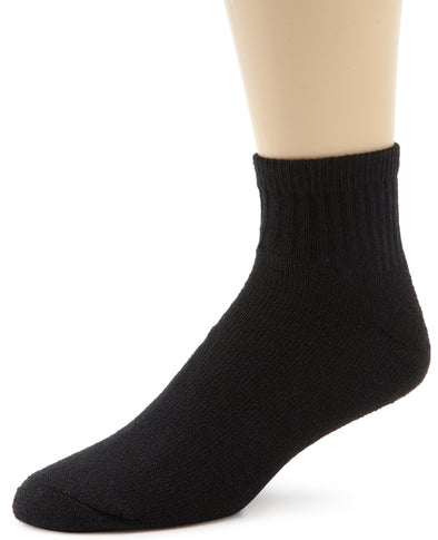 Wigwam Unisex S1168 Cotton 1/4 Crew Sports Socks