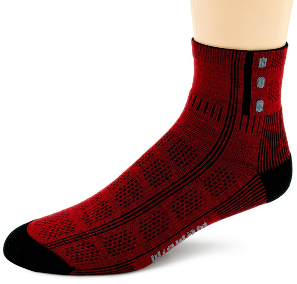 Wigwam Unisex F1434 Merino Wool 1/4 Crew Hiking Socks