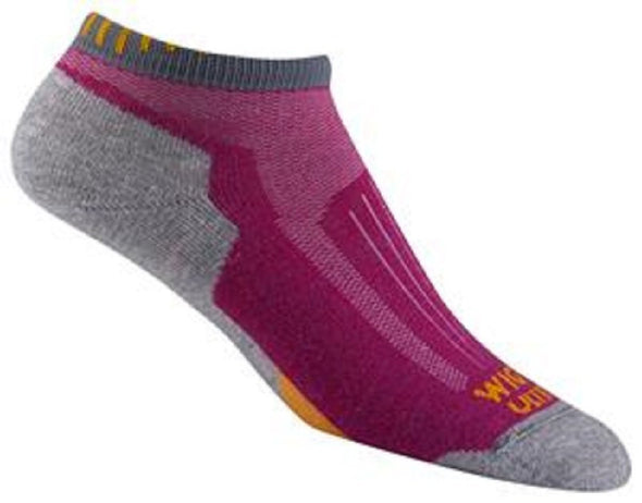 Wigwam Unisex F6056 Merino Wool No Show Hiking Socks