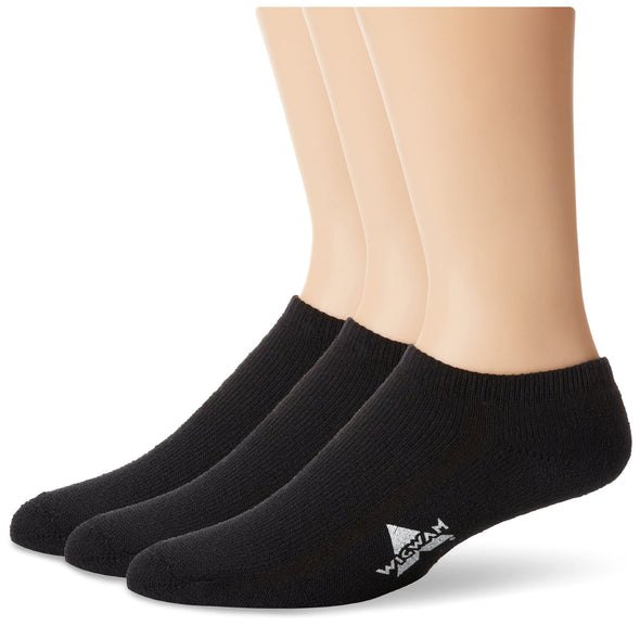 Wigwam Unisex S1042 Cotton No Show Sports Socks