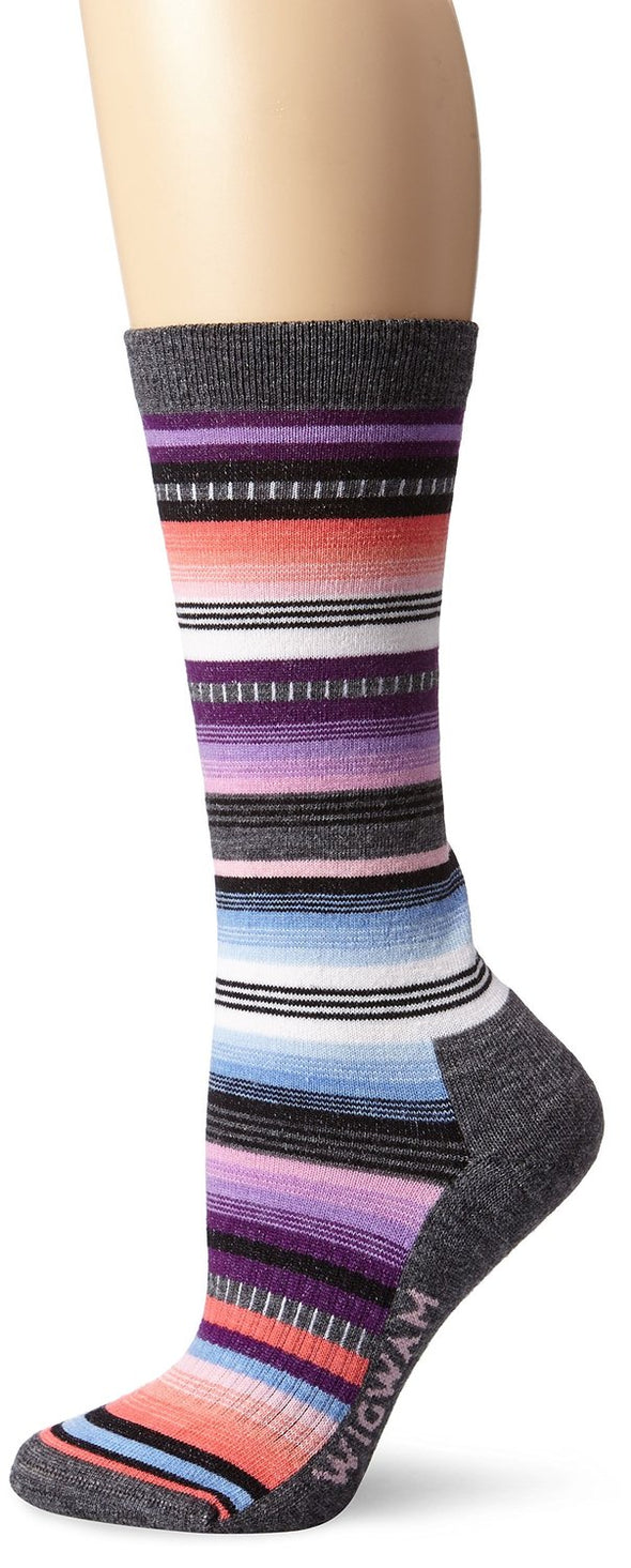 Wigwam Unisex F2509 Merino Wool Crew Fashion Socks