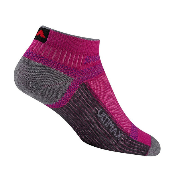 Wigwam Unisex F6281 Polyester No Show Hiking Socks