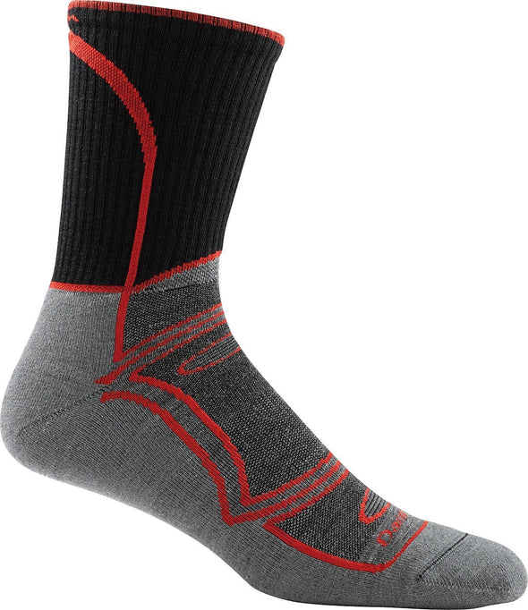 Darn Tough Mens 1820 Merino Wool 3/4 Crew Ski/Snowboarding Socks