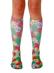 Living Royal Unisex Knee High Fashion Socks, Gift Bows, One Size