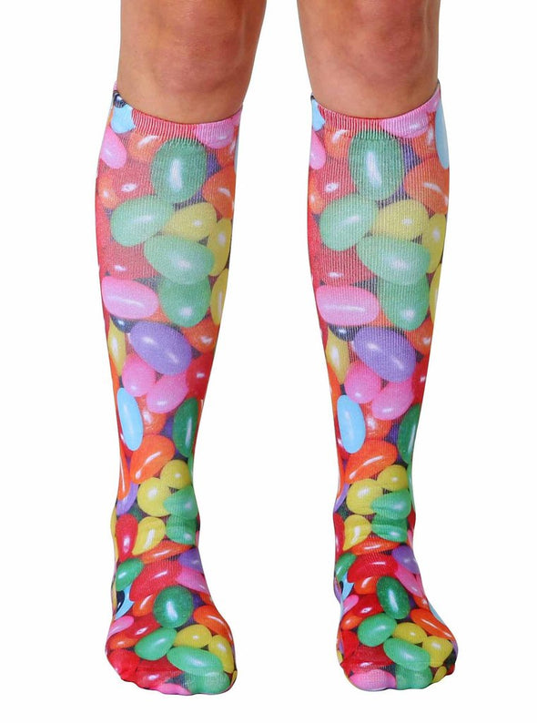 Living Royal Unisex Knee High Fashion Socks, Jelly Bean, One Size