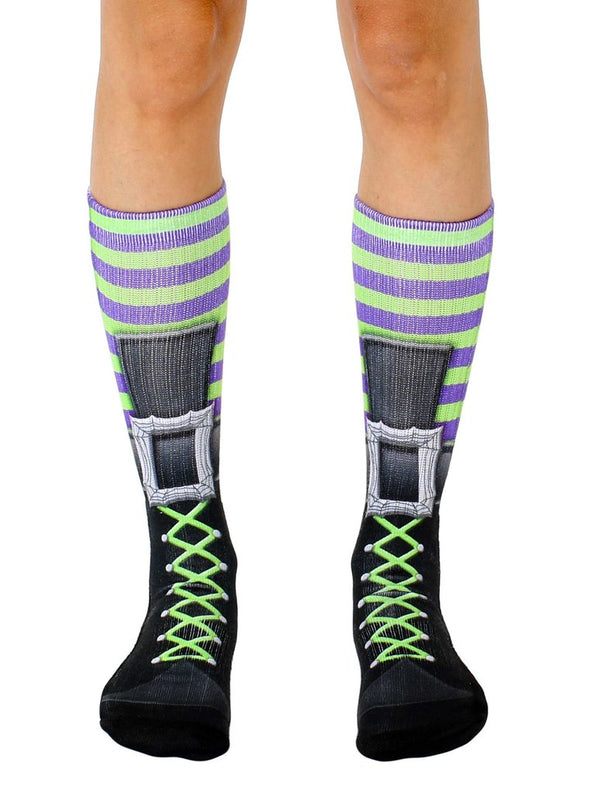 Living Royal Unisex Crew Sports Socks, Witch Boot, One Size