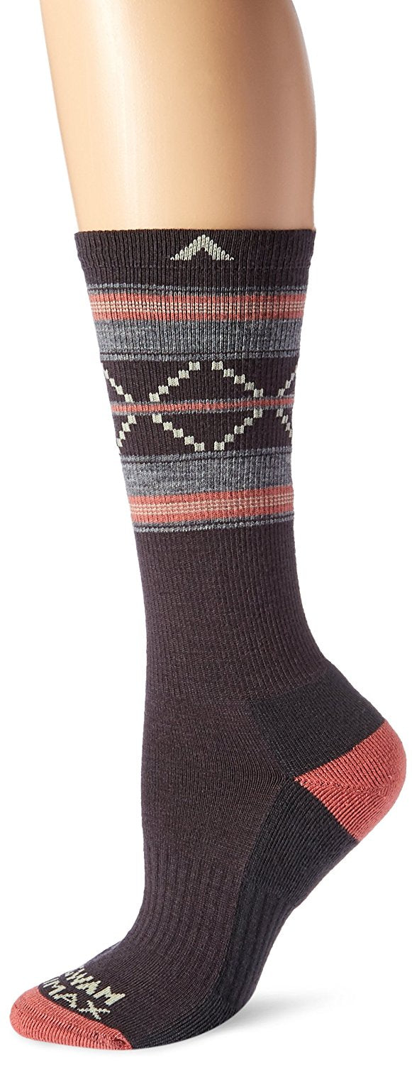 Wigwam Unisex F6178 Merino Wool Crew Hiking Socks