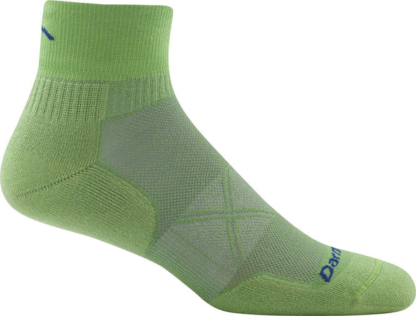Darn Tough Mens 1768 Merino Wool 1/4 Crew Running Socks