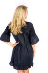 Charlotte Bell Sleeve Dress