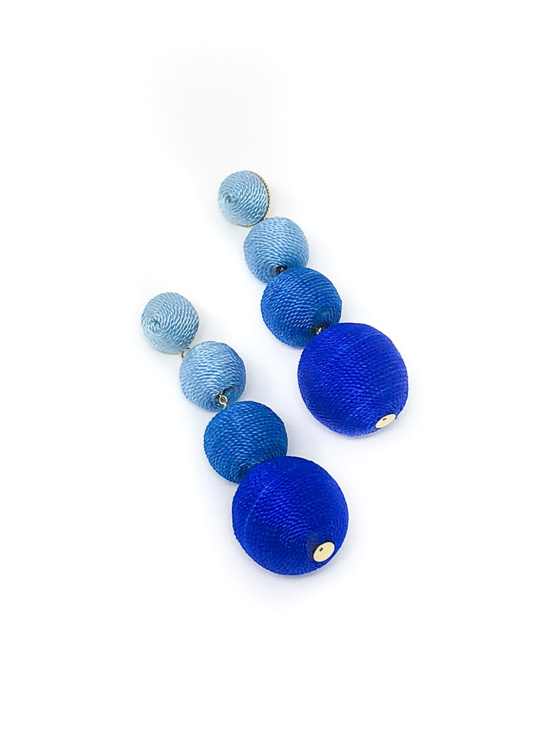 Summerville Blue Ombre Bon Bon Earrings