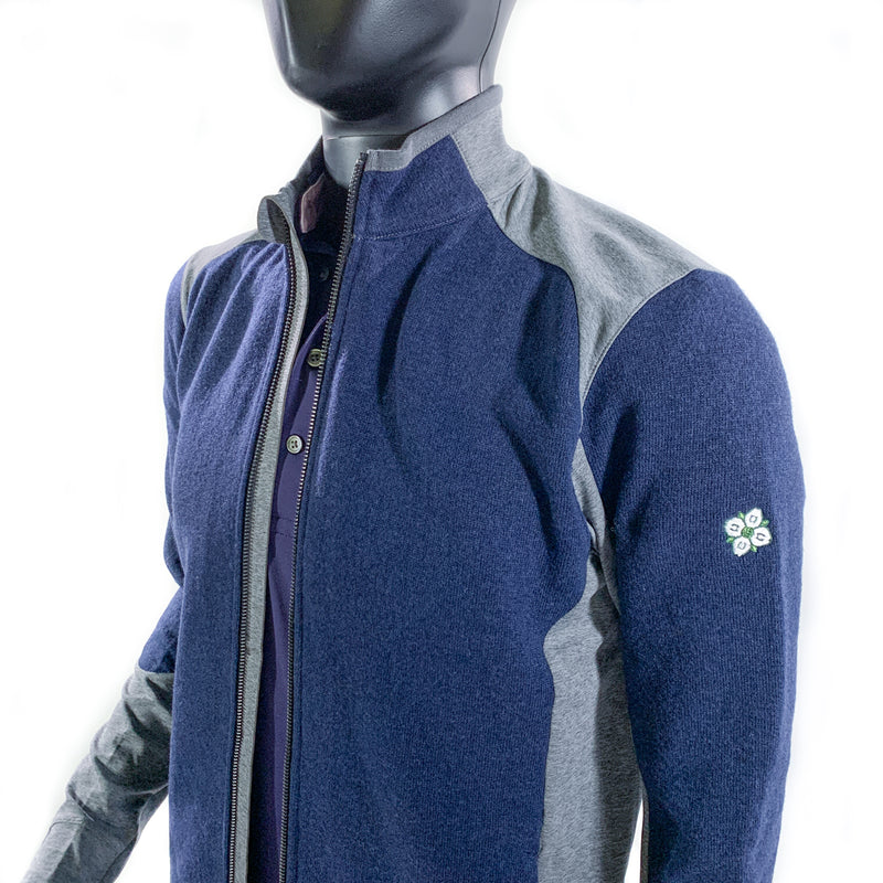 The Sequoia Luxe Full Zip Jacket - Blackberry