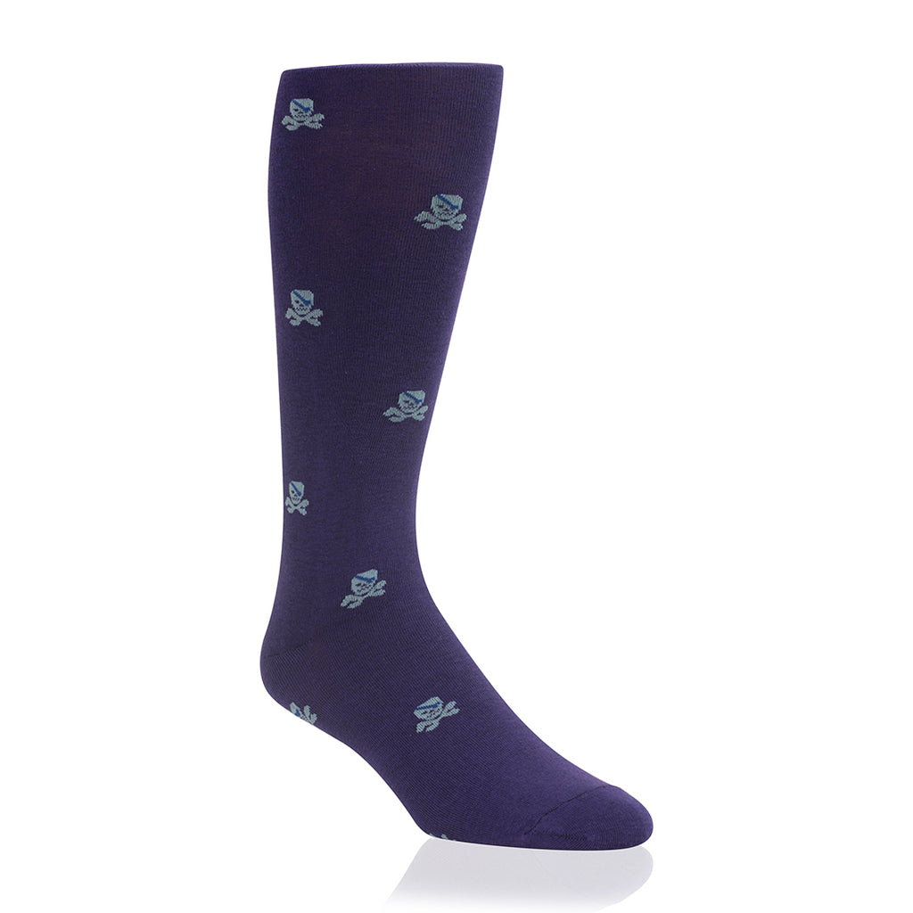 Purple Pirate Solemateys Socks
