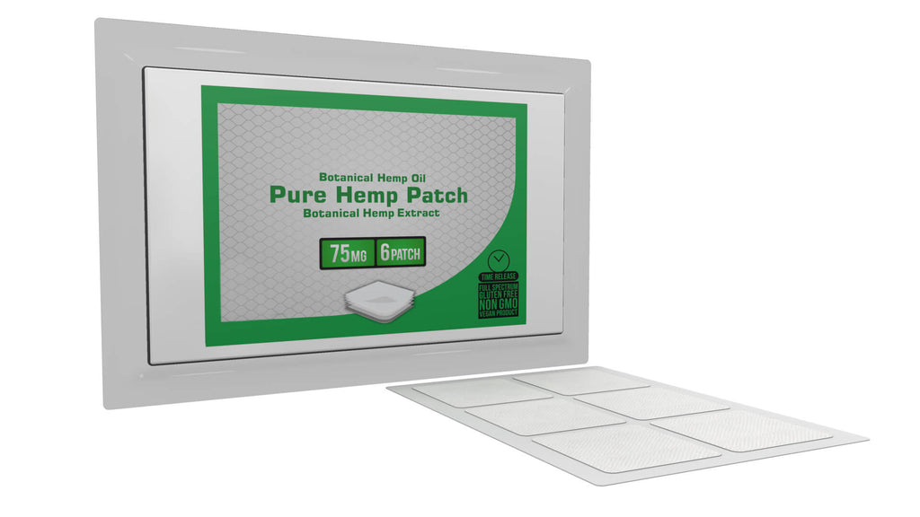 6 Hemp Patch Bundle