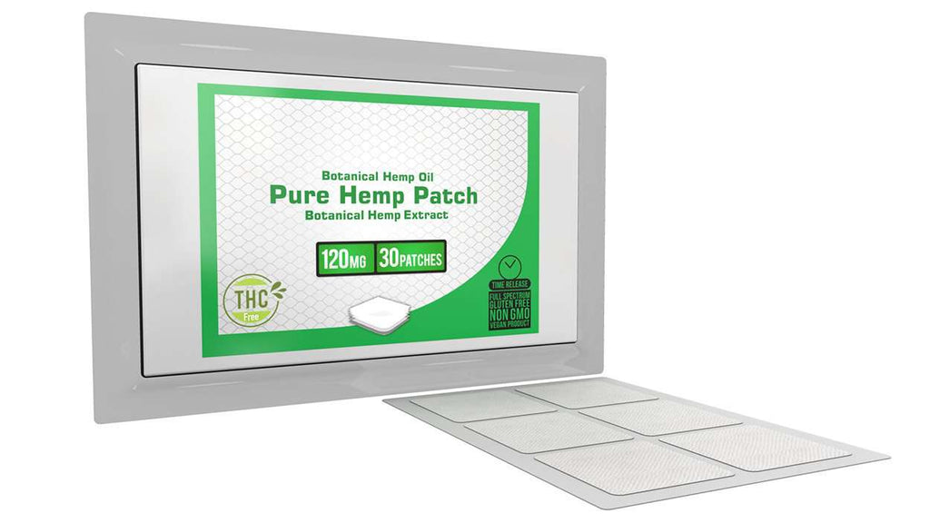 Pure Hemp - 30 Patches - 120mg per patch