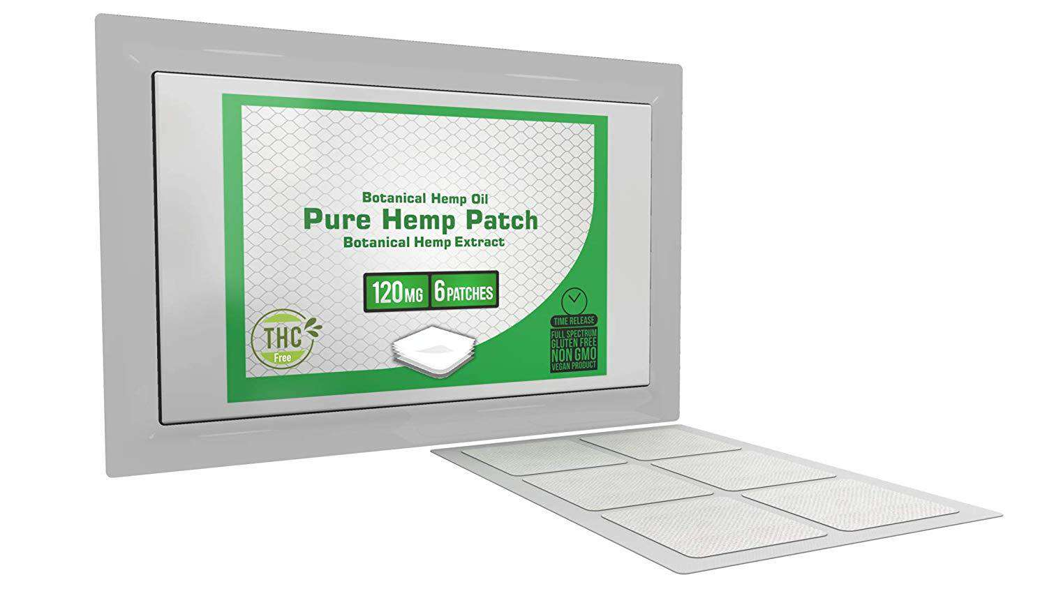 Pure Hemp Patch - 120mg patch