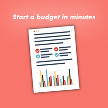 Budget Spreadsheet - Instant Download