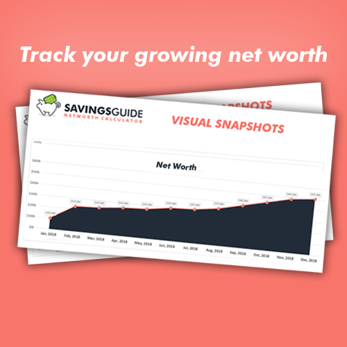 Net Worth Calculator - Instant Download