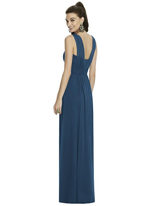 Maxi dress with front split
